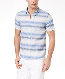 GUESS Men's Sunset Stripe Shirt
