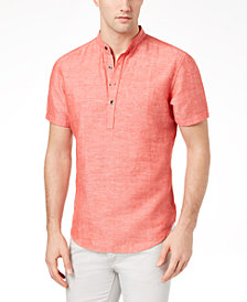 I.N.C. Men's Cameron Linen Shirt, Created for Macy's