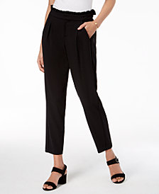Maison Jules Pull-On Pleated Pants, Created for Macy's