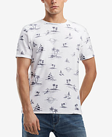 Tommy Hilfiger Men's Kahuna Print Terry Cloth T-Shirt, Created for Macy's