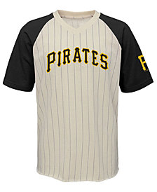 Outerstuff Pittsburgh Pirates Game Tradition T-Shirt, Big Boys (8-20)