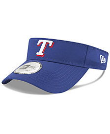 New Era Texas Rangers Clubhouse Visor
