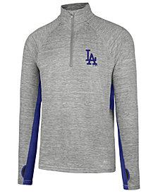 '47 Brand Men's Los Angeles Dodgers Evolve Quarter-Zip Pullover