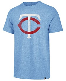 '47 Brand Men's Minnesota Twins Coop Triblend Match T-Shirt