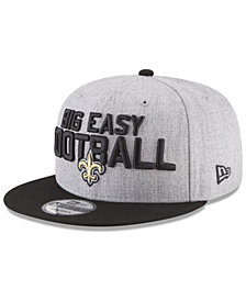 New Era Boys' New Orleans Saints Draft 9FIFTY Snapback Cap