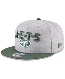 New Era Boys' New York Jets Draft 9FIFTY Snapback Cap