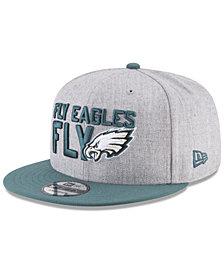 New Era Boys' Philadelphia Eagles Draft 9FIFTY Snapback Cap