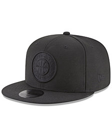 New Era Utah Jazz Blackout 59FIFTY Fitted Cap