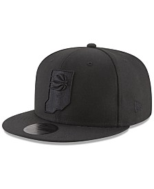New Era Indiana Pacers Blackout 59FIFTY Fitted Cap