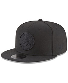New Era Toronto Raptors Blackout 59FIFTY Fitted Cap