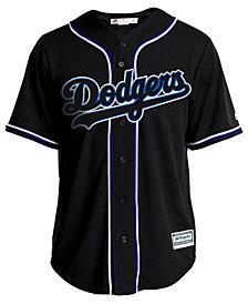 Majestic Men's Los Angeles Dodgers Pitch Black Jersey