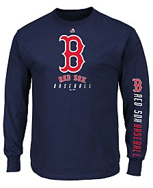 Majestic Men's Boston Red Sox Game Supreme Long Sleeve T-Shirt