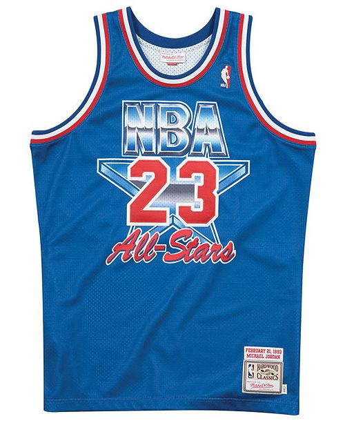 separation shoes e82f0 ca6b9 Men's Michael Jordan NBA All Star 1993 Authentic Jersey