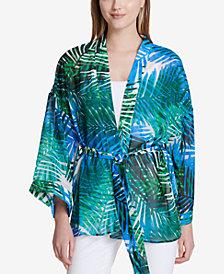 Calvin Klein Printed Kimono
