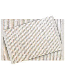 LAST ACT! Idea Nuova 2-Pc. Tufted Ombré-Stripe Bath Rug Set