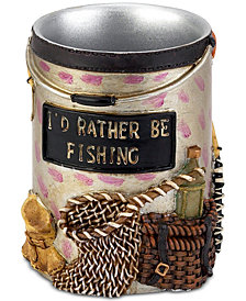 Avanti Rather Be Fishing Hand-Painted Tumbler