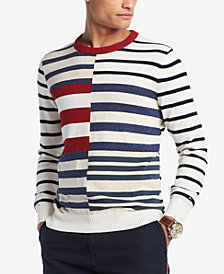 Tommy Hilfiger Men's Shipley Striped Sweater, Created for Macy's