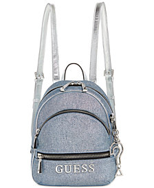 GUESS Manhattan Small Denim Backpack