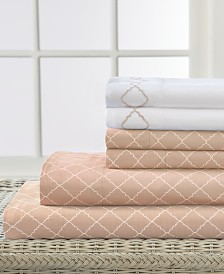 Elite Home Revina 4-Pc. Twin Sheet Set