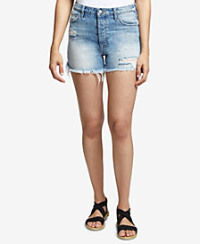 Sanctuary Ripped Denim Shorts