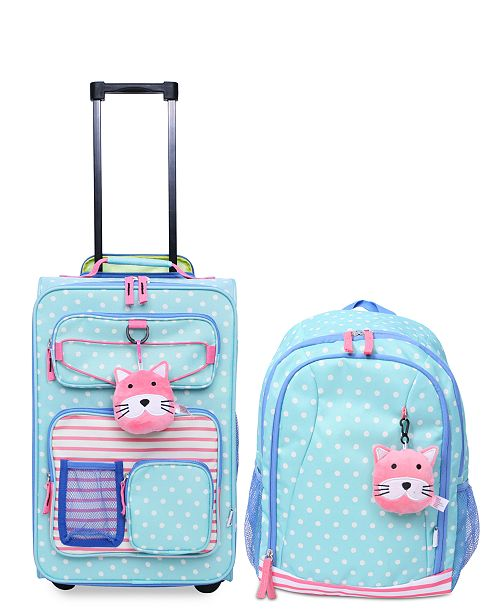 32467a7d59c Crckt Kids 2-Pc. Printed Carry-On Suitcase   Backpack Set - Luggage ...