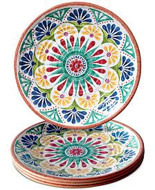 TarHong Rio Medallion Dinner Plate, Set of 4
