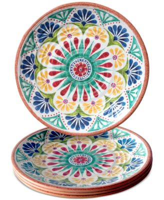 TarHong Rio Medallion Dinner Plate Set of 4  sc 1 st  Macy\u0027s & TarHong Rio Medallion Dinner Plate Set of 4 - Dinnerware - Dining ...