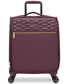 "Allure Quilted Softside 21"" Upright Spinner Suitcase"