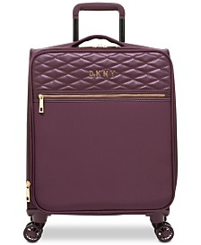 "DKNY Allure Quilted Softside 21"" Upright Spinner Suitcase"