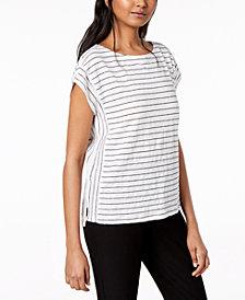 Eileen Fisher Organic Linen T-Shirt, Regular & Petite