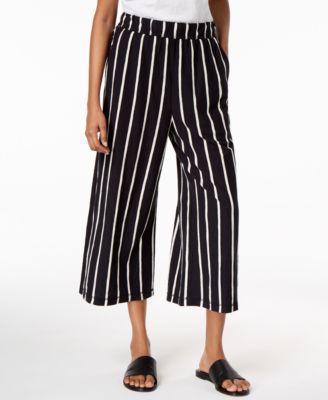 Organic Cotton Cropped Pants, Regular & Petite