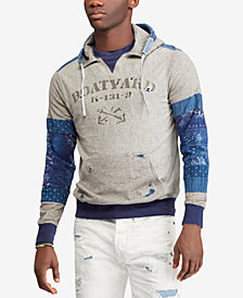 Polo Ralph Lauren Men's Patchwork Jersey Hoodie