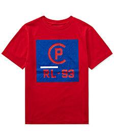 Polo Ralph Lauren Big Boys CP-93 Crew-Neck Cotton T-Shirt