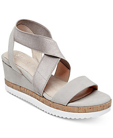 STEVEN by Steve Madden Women's Saria Crisscross Wedge Sandals