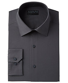 alfatech by alfani mens big tall solid dress shirt created for macys