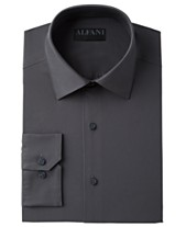 ac59a7c2 AlfaTech by Alfani Men's Big & Tall Solid Dress Shirt, Created For Macy's