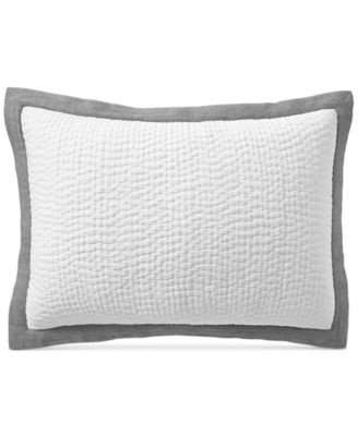 Voile Quilted Standard Sham, Created for Macy's