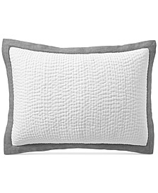 CLOSEOUT! Voile Quilted Standard Sham, Created for Macy's