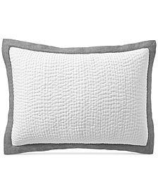 Hotel Collection Voile Quilted Standard Sham, Created for Macy's