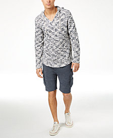 American Rag Baja Hoodie & Cargo Knit Shorts, Created for Macy's