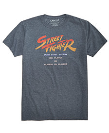 New World Men's Street Fighter Graphic T-Shirt