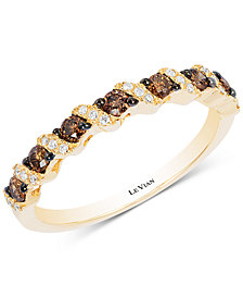 Le Vian Chocolatier® Diamond Band (1/3 ct. t.w.) in 14k Gold