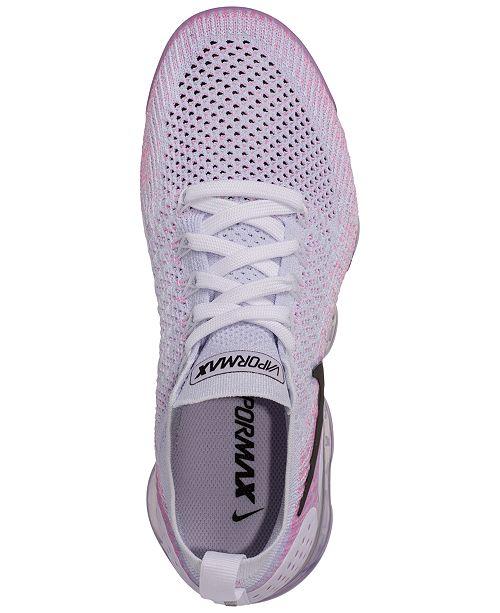 online retailer 8de27 38661 Nike Women's Air VaporMax Flyknit 2 Running Sneakers from ...