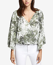 Sanctuary Gilligan Bell-Sleeve Wrap Top