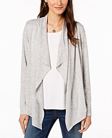 Draped Open-Front Sweater, Created for Macy's
