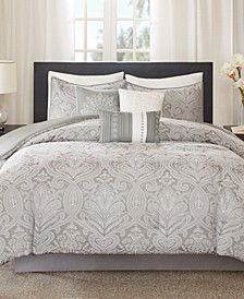 Averly 7-Pc. Queen Comforter Set