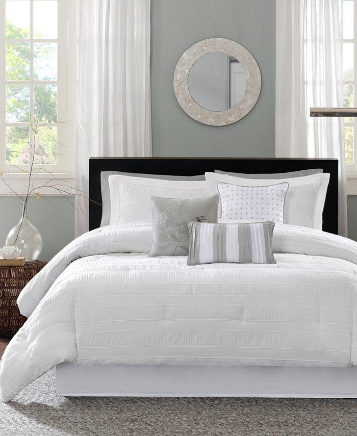 Madison Park - Hampton 7-Pc. California King Comforter Set