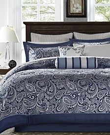 Adeline 12-Pc. California King Comforter Set