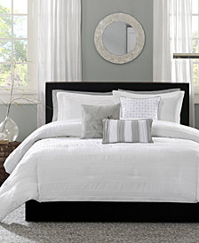 Madison Park Hampton 6-Pc. King/California King Duvet Cover Set