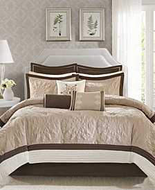 Madison Park Juliana 9-Pc. Charmeuse Comforter Sets